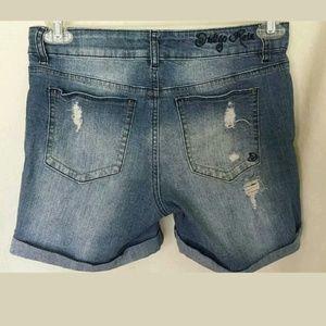 Indigo Rein Forever Shorts - Indigo Rein Forever Denim Shorts Size 9 Jr's